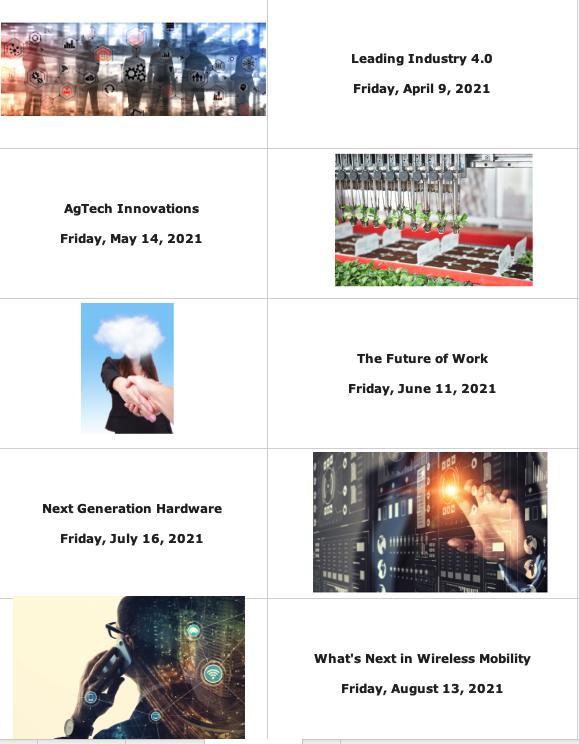 2021 VIP Roundtable Programs, April-Aug
