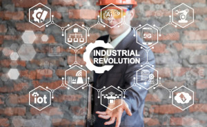 Industrial Revolution IT Integration Smart Manufacturing Innovat