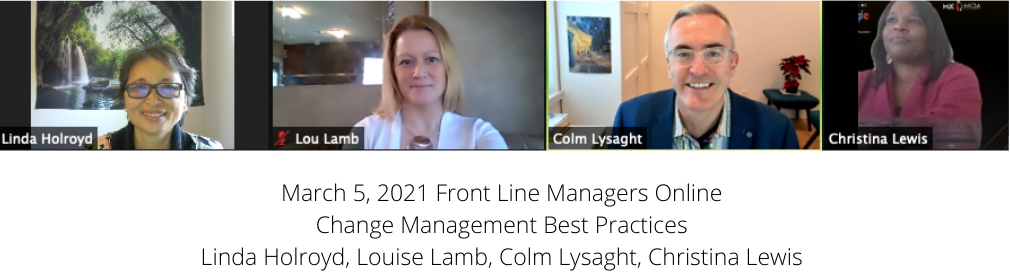 Change Management Panel