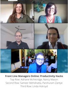 Productivity Hacks Panel