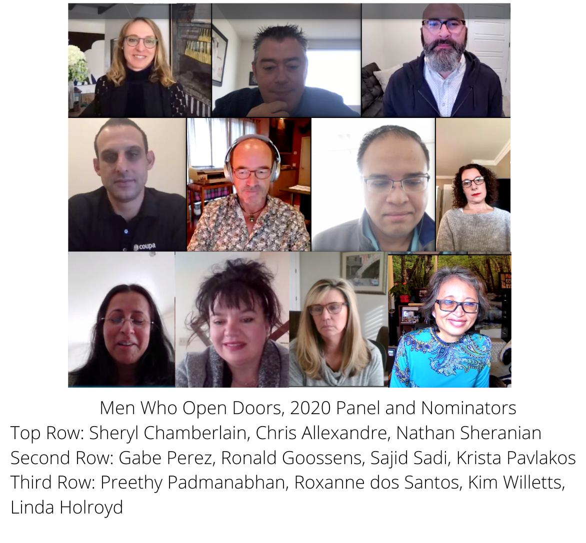 Men Who Open Doors 2020